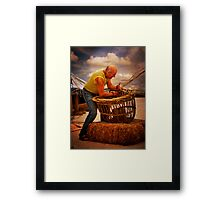The Craftsman Framed Print