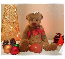 Cuddles at Christmas Poster