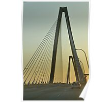 The New Bridge at Sunset Poster