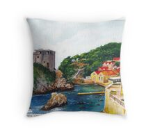 Dubrovnik, Croatia Throw Pillow