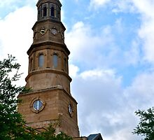 Church St. Steeple on a sunny day by Ginadg73