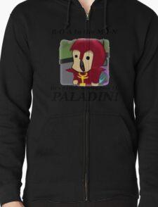 Roamin the Paladin (Black Text) T-Shirt