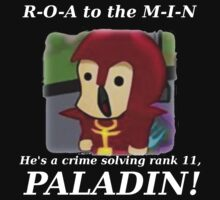 Roamin the Paladin (White Text) by Squinton27