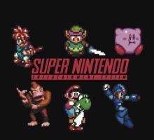 Super Nintendo by CavedIn