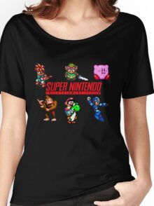 Super Nintendo Women's Relaxed Fit T-Shirt