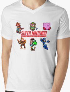 Super Nintendo Mens V-Neck T-Shirt
