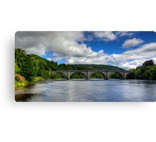 Thomas Telford's Finest Highland Bridge Canvas Print
