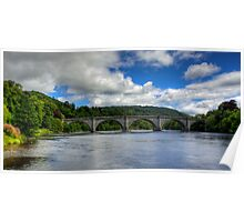 Thomas Telford's Finest Highland Bridge Poster