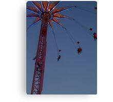 Amusement Park Ride Canvas Print