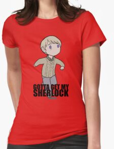Gotta Get My SHERLOCK Womens Fitted T-Shirt