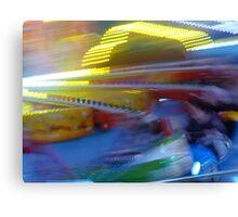 At the Amusement Park Canvas Print