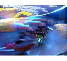 Amusement Park Photographic Print