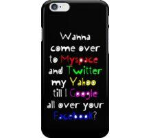 Twitter My Yahoo! iPhone Case/Skin