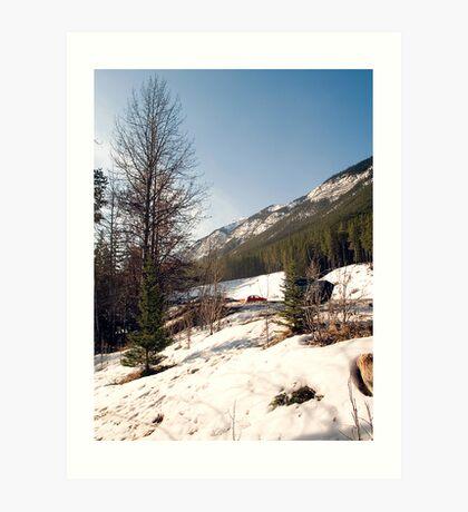 A little bit of Banff series #2 Art Print
