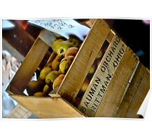 Box of Apples Poster