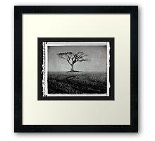 Rihanna Tree Framed Print