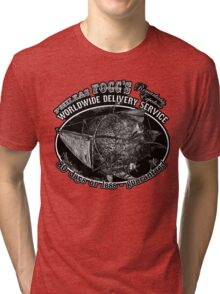 Around the World in 80 Days Tee or Hoodie Tri-blend T-Shirt