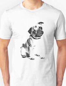 pug, i love pugs, cute pug T-Shirt
