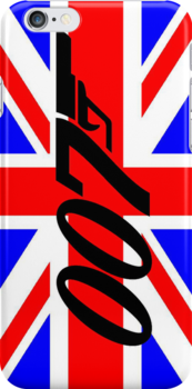 James Bond 007 Iphone Case by houseofthesith