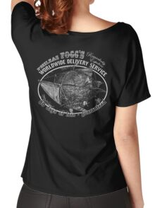 Phileas Fogg's Remarkably Expedient Delivery Service Women's Relaxed Fit T-Shirt