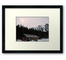 A little bit of Banff series # 3 Framed Print