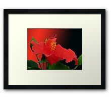 """Flamenco dance"" Framed Print"