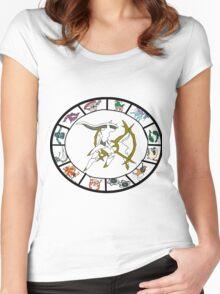 Pokemon Western Zodiac Women's Fitted Scoop T-Shirt
