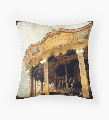 Le Manège #8 Throw Pillow
