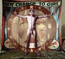 Boy changed to girl by artguybaltimore