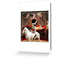 My Pretty Pony Boy Greeting Card
