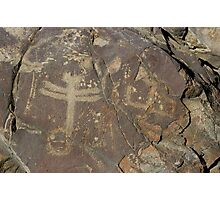 Dragonfly Petroglyphs ~ New Mexico Photographic Print