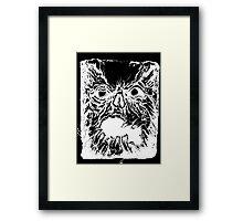 Necronomicon Inverse Framed Print