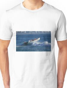 Burleigh Heads - Mowbray Park Surf Boat Crew In Action #1 Unisex T-Shirt