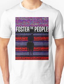 Foster the People Glitch Pattern T-Shirt