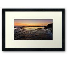 Lines of Nature Framed Print
