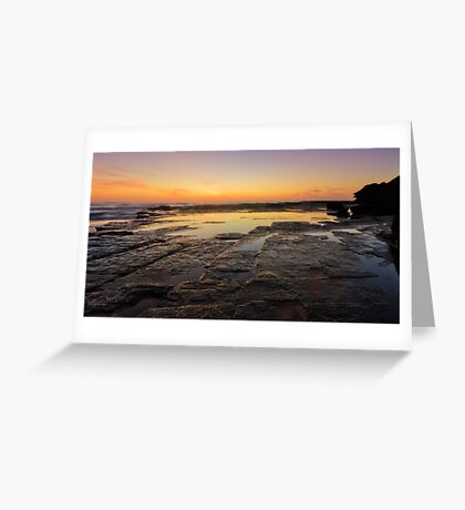 Lines of Nature Greeting Card