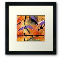 At Sunshine Crossing Framed Print