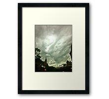 Windy City Sky Framed Print