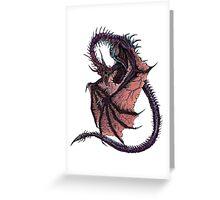 Cursed Dragon Greeting Card