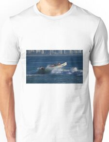 Burleigh Heads - Mowbray Park Surf Boat Crew In Action #2 Unisex T-Shirt