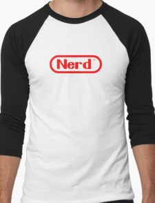 Nerd Men's Baseball ¾ T-Shirt