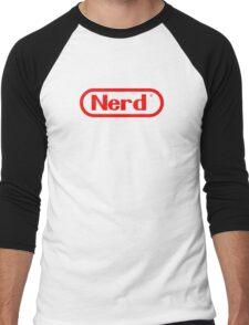 Nerd Men's Baseball ¾ T-Shirt
