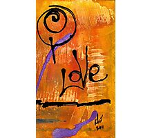 A Whirlwind Called LOVE Photographic Print