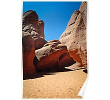 Arches to the Sky Poster