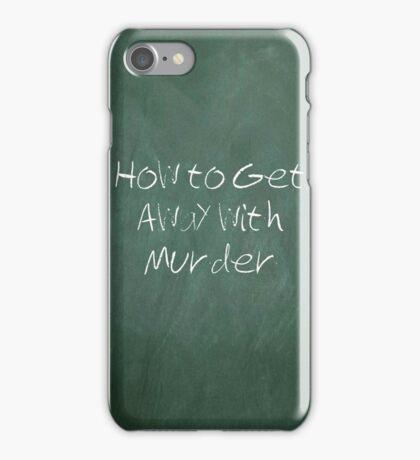 Murder? iPhone Case/Skin