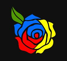 Tri-Color Rose Unisex T-Shirt