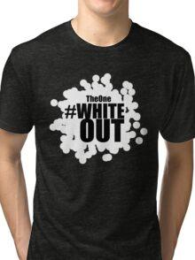 #Whiteout Tri-blend T-Shirt