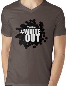 #Whiteout (Inverse) Mens V-Neck T-Shirt
