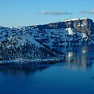 Crater Lake Winter Landscape by Nick Boren