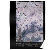USGS Topo Map Washington State WA Sunrise 20110520 TM Inverted Poster